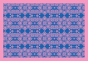 Islamic Ornaments Pink Vector