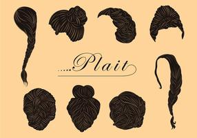 Free Various Plait Style Vectors