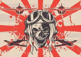 Sujo Vector Skull Kamikaze