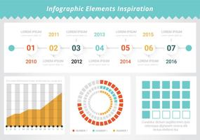 GratuitJe Infographic Elements Outils vectorielles