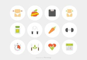 Free Slimming Vector Icons