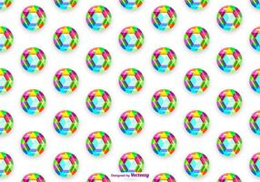 Vector Colorful Rhinestone Background