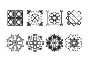 Free Vector Ornaments islâmicos
