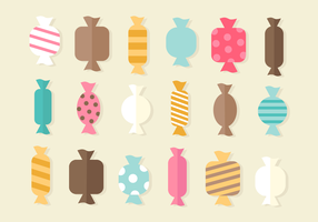 Gratis Sweet Candy Vector
