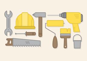 Freie Arbeiten Werkzeuge Vektor
