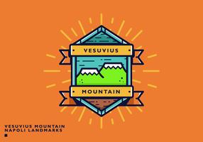 Free Napoli Vesuvius Landmark Vector