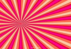 Arrière-plan de rayon de soleil coloré