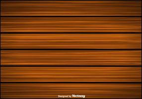 Arrière-plan en bois vecteur Planks