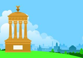 Morning Edinburgh Gratis Vector