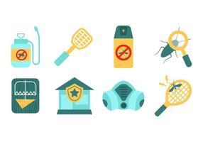 Free Vector Elementos de control de plagas