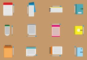 Free Block Notes Vector