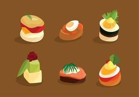 Canapes Cuisine Free Vector