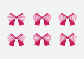 pink Hair Ribbon Pink Vector