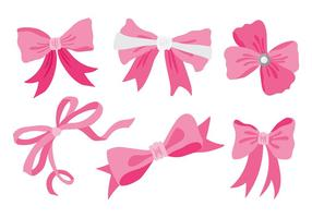 Gratis Hair Ribbon Icons Vector