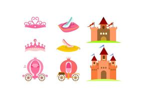 Castle Element Gratis Vector