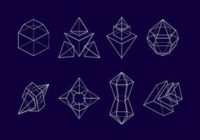 Prisma marco de vectores libres