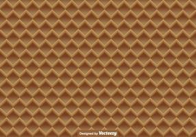 Waffle Vector Close Up Seamless