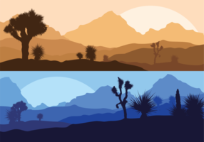 Yucca Silhouette Illustration