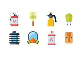 Pest Control Icons vector