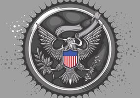 Vecteur américain Silver Eagle