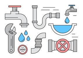 Linear Plumbing Vector Elements