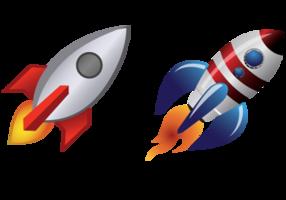 Rocket Ships Vectors