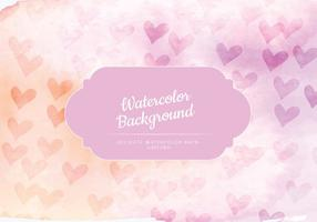 Vector Feminine Watercolor Background