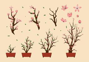 Flor de Durazno libres del vector