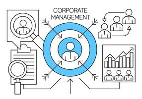 Linear Corporate Management and Business Elements