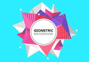 Gratis Abstract Low Poly Achtergrond