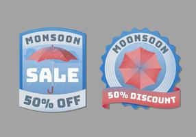 Monsoon Badge or Label Collection