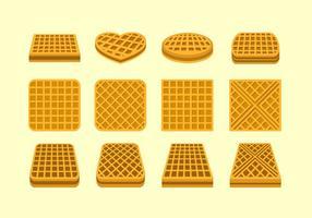 Waffle originale vettoriale gratuito