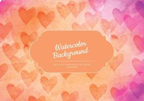 Watercolor Background Colorful Vector