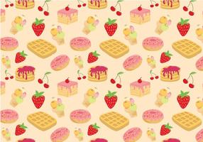 Free Sweets Pattern Vectors