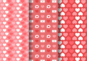 Gratis Love Hearts Pattern