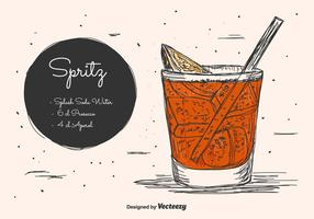 Spritz Vector Background