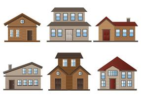 Free Chalet Icons Vector