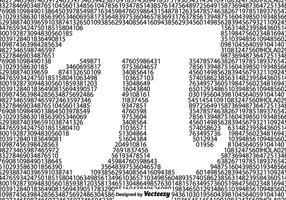 Patrón sin fisuras vector del símbolo del pi