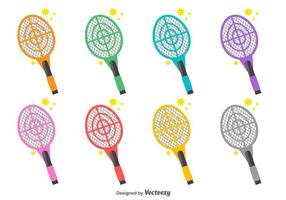 Vector Collection Of Fly Swatter Icons
