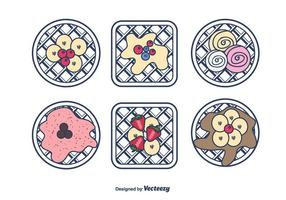 Sweet Waffles Vector