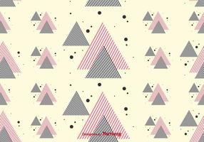 Stripe Triangles Pattern