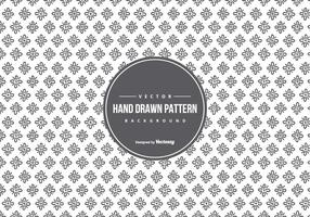 Cute Hand Drawn Style Pattern Background vector