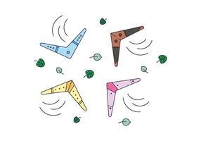 Freier Boomerang Vector