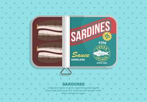 Sardine Background