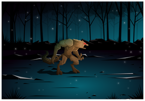 Free Illustration Werewolf Game Vector