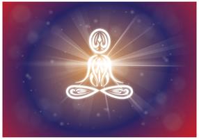 Libre de vectores de fondo Lakshmi