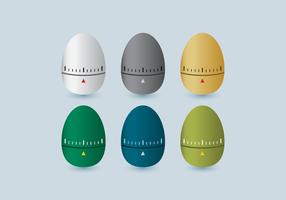 Icona di vettore del temporizzatore dell'uovo