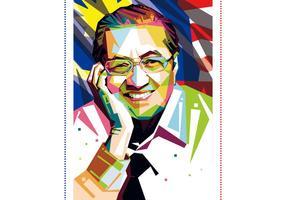 Tun Mahathir Vector