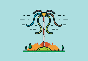 Free Maypole Vector