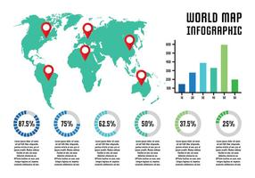 World Map Infographic
